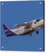 Fedex Airplane Acrylic Print