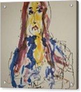Female Face Study  E Acrylic Print