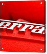 Ferrari Intake Acrylic Print