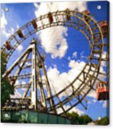 Ferris Wheel At The Prater  Acrylic Print