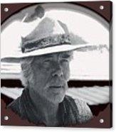 Film Homage Lee Marvin Monte Walsh Collage Variation 2 Old Tucson Arizona 1969-2012 Acrylic Print