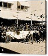 Film Homage Newsreel Cameraman The Great White Hope Set Globe Arizona 1969-2008 Acrylic Print