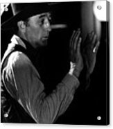 Film Noir Robert Mitchum Raoul Walsh Pursued 1947 Old Tucson Arizona 1968 Acrylic Print