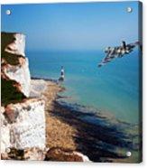 Final Beachy Head Pass Acrylic Print