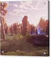 Final Fantasy Xiv A Realm Reborn Acrylic Print