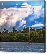 Finding Safe Harbor Acrylic Print