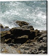 Fine Art Water And Rocks Acrylic Print