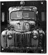 Fire Truck Acrylic Print