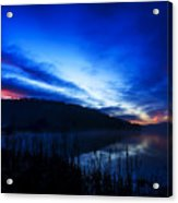First Light At The Lake Acrylic Print
