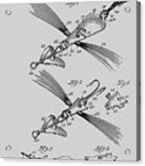 Fish Lure Patent 1933 Acrylic Print