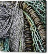 Fish Netting Husavik Iceland 3755 Acrylic Print