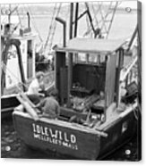 Fishing Boat Idlewild Wellfleet Massachusetts Acrylic Print