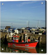 Fishing Boats At Whitstable Harbour 02 Acrylic Print