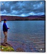 Fishing Limekiln Lake Acrylic Print