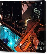 Flamanville Nuclear Power Plant Acrylic Print