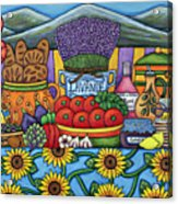 Flavours Of Provence Acrylic Print