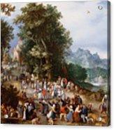 Flemish Fair Acrylic Print