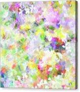 Floral Art Lviii Acrylic Print