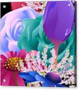 Flowers 6 Acrylic Print