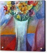 Flowers In Vase Vii Acrylic Print