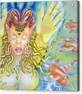 Fly N Fish Acrylic Print