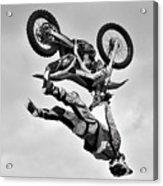 Flying Inverted Acrylic Print