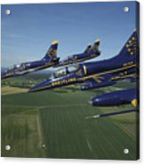Flying With The Aero L-39 Albatros Acrylic Print