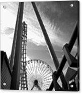 Focus On The Ferris Wheel Acrylic Print