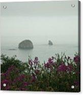 Foggy Viewpoint Acrylic Print