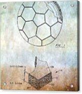 Football Patent Acrylic Print