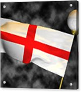 Football World Cup Cheer Series - England Acrylic Print