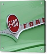 Ford Pickup Details Acrylic Print