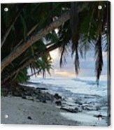 Forest Beach Acrylic Print