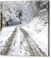 Forest Service Road 76 Acrylic Print