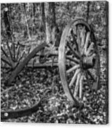 Forgotten Wagon Acrylic Print