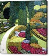Formal Gardens Acrylic Print