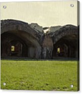 Fort Pickens Arches Acrylic Print