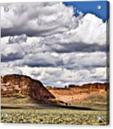 Fort Rock Acrylic Print
