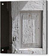 Fort Warren Door 7150 Acrylic Print