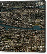 Foster City, California Aerial Photo Acrylic Print