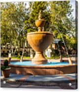 Fountain At Tlaquepaque Acrylic Print