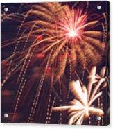 Fourth Of July Fireworks  Acrylic Print