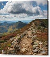 Franconia Ridge Trail - White Mountains New Hampshire Acrylic Print