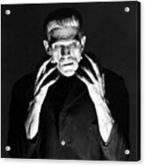 Frankensteins Monster Boris Karloff Acrylic Print