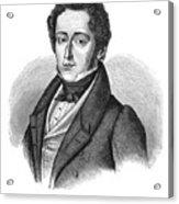 Frederic Chopin (1810-1849) Acrylic Print