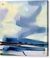 Fremont Salt Pans Acrylic Print
