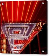 Fremont Street Las Vegas Acrylic Print