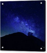 French Gulch Milky Way Acrylic Print