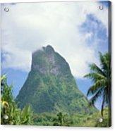 French Polynesia Moorea Acrylic Print