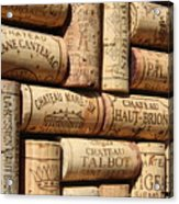 French Wines Acrylic Print